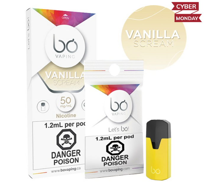 BO Vanilla Scream Pods