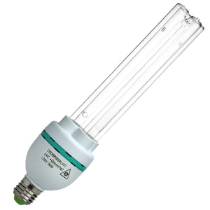 UVC with Ozone Germicidal Bulb 36W Self-Ballast E26 Screw Socket 120V for Kill Germ, Covers up to 600sq.ft (Replace Bulb CTUV-36)