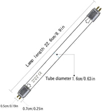 Load image into Gallery viewer, 2pcs*T5 6W UV Bulb Replacement Light Straight Tube  (253.7nm Ozone-free)