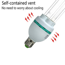 Load image into Gallery viewer, UVC with Ozone Germicidal Bulb 36W Self-Ballast E26 Screw Socket 120V for Kill Germ, Covers up to 600sq.ft (Replace Bulb CTUV-36)