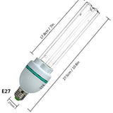 UVC Germicidal Bulb 36W with Ozone E27 Screw Socket 110V for Kill Germ ( Replace Bulb)