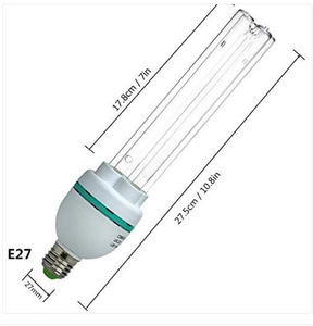 UVC Germicidal Bulb 36W E26 Screw Socket 120V ,Used for  Kill Germ (Replace Bulb/Ozone-free CTUV-36)
