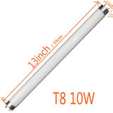 T8 10W UV Replacement Bulb Tube for 20W Bug Zappers Fly and Mosquito Kill Trap( 2-pack)