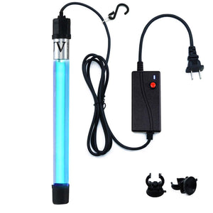 UVC Wand Waterproof/Timer Control /7w Ultraviolet 110v, for Remove Musty (Ozone-free)
