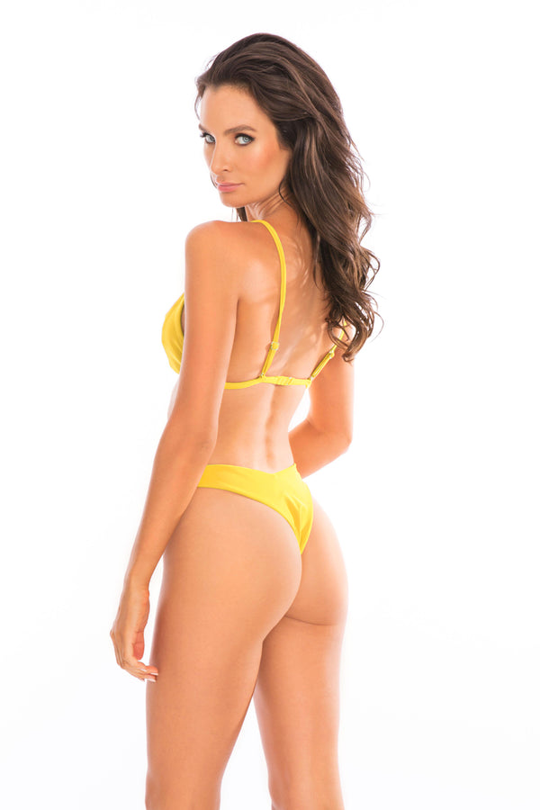 SET - Barbie Bikini Set Yellow