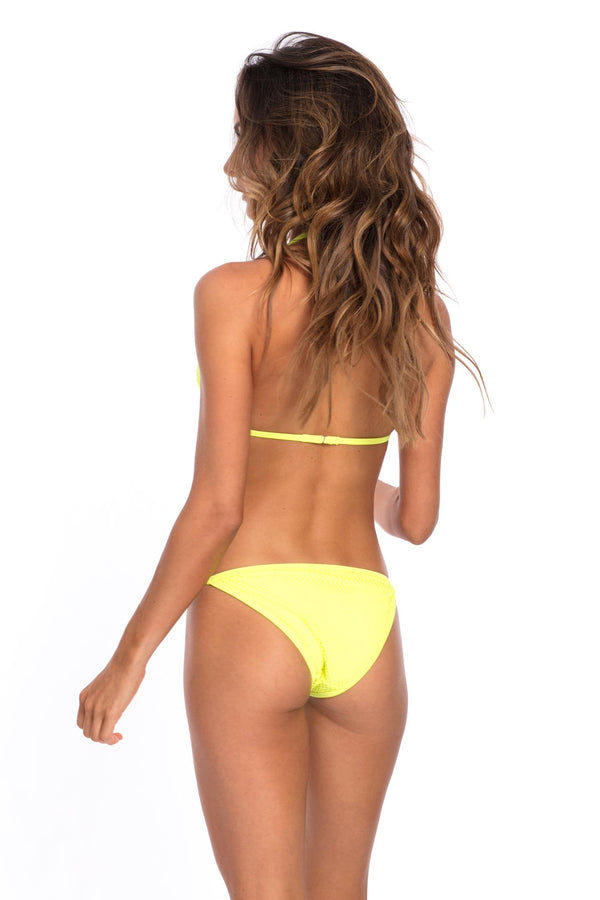 SET - Brazilian Bikini Yellow Bottom & top