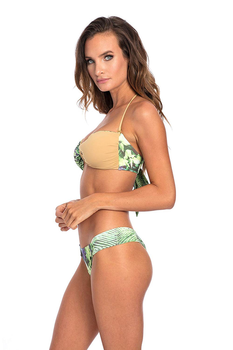 SET - Forest Print Andreia Bikini Bottom & top