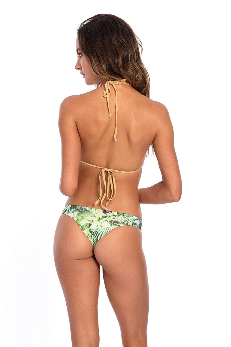 SET - Forest Print Lana Bikini Bottom & top