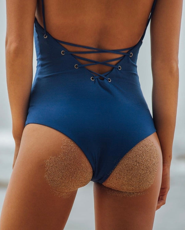 ONE PIECE - Dakoda One Piece Steel blue color