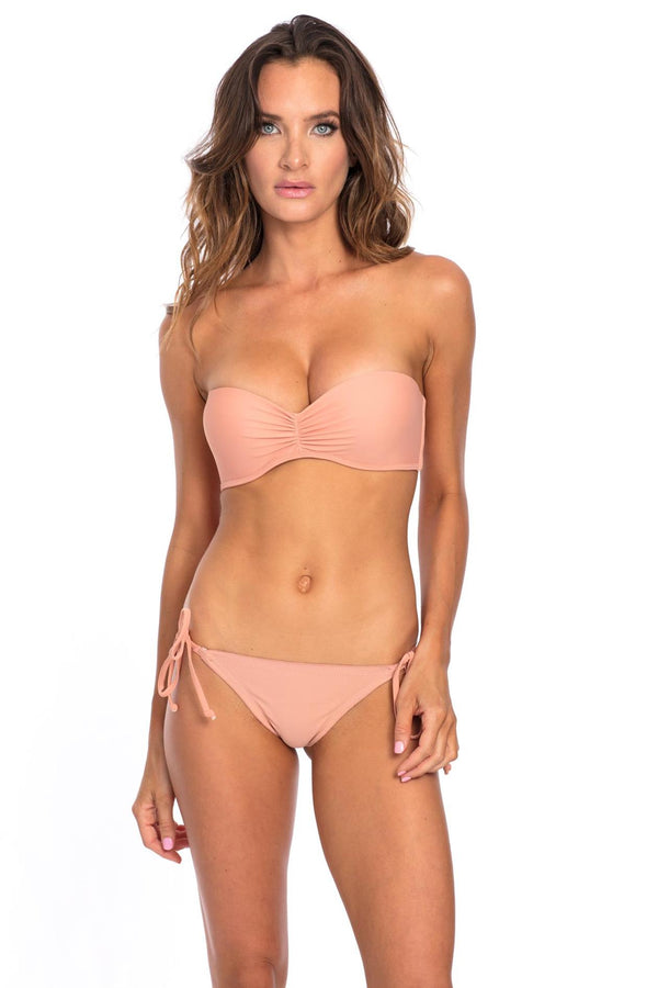 Muted Clay Bikini Top F