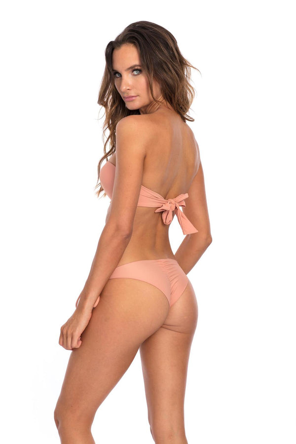 BOTTOM - Muted Clay Marina Bikini Bottom