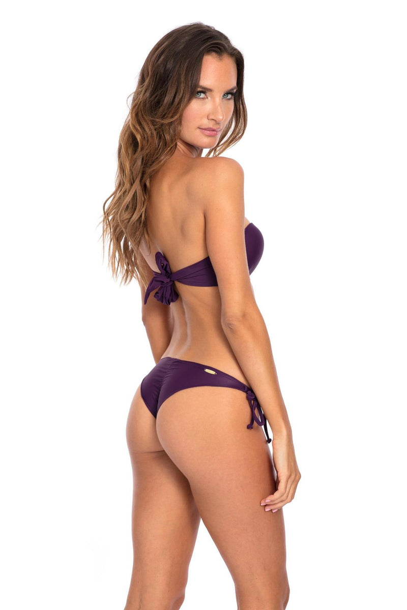 SET - Purple Marina Bikini Bottom & top