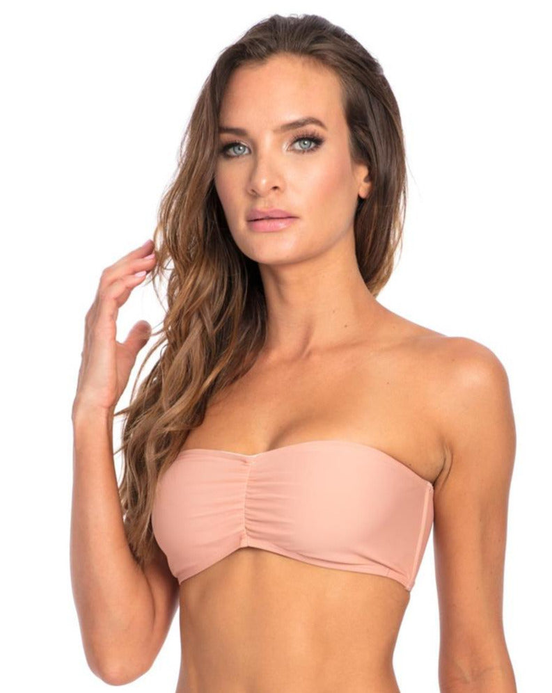 Muted Clay Bikini Top K