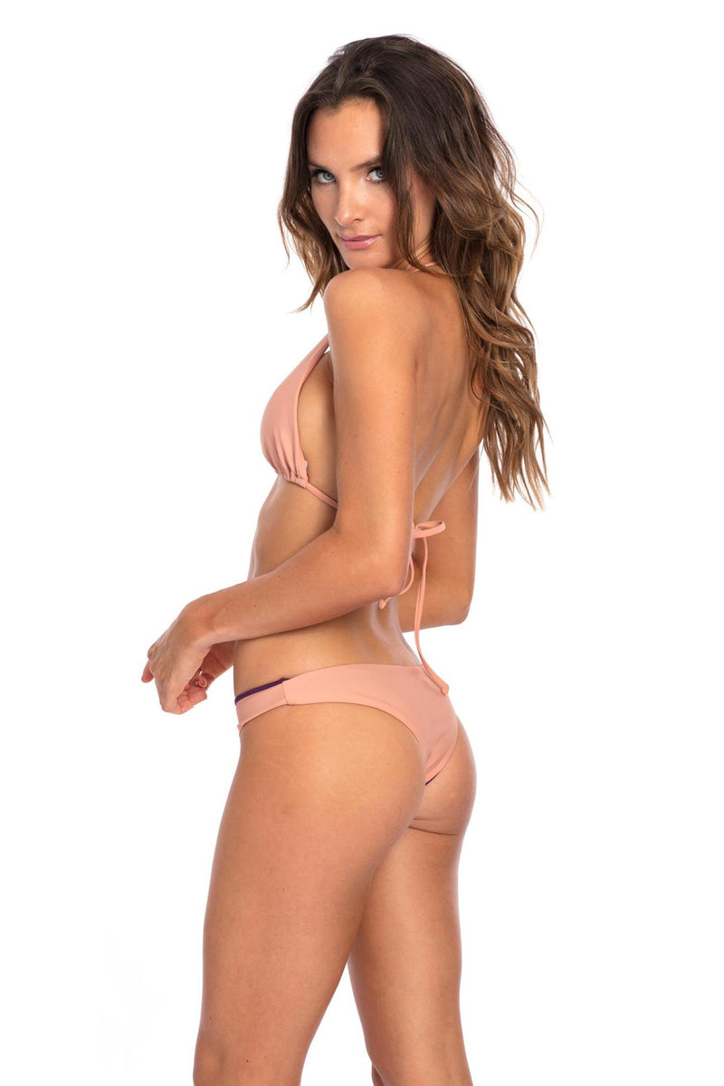 BOTTOM - Muted Clay Lisa Bikini Bottom