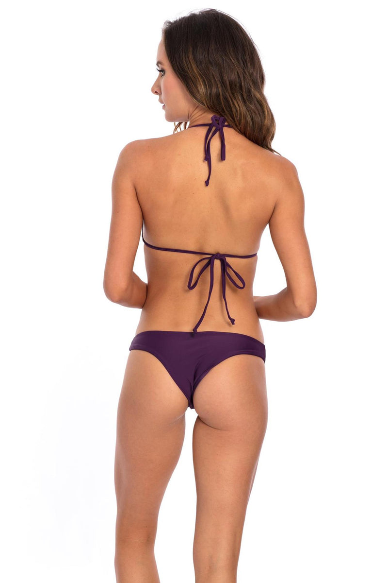 Purple Lisa Bikini Bottom