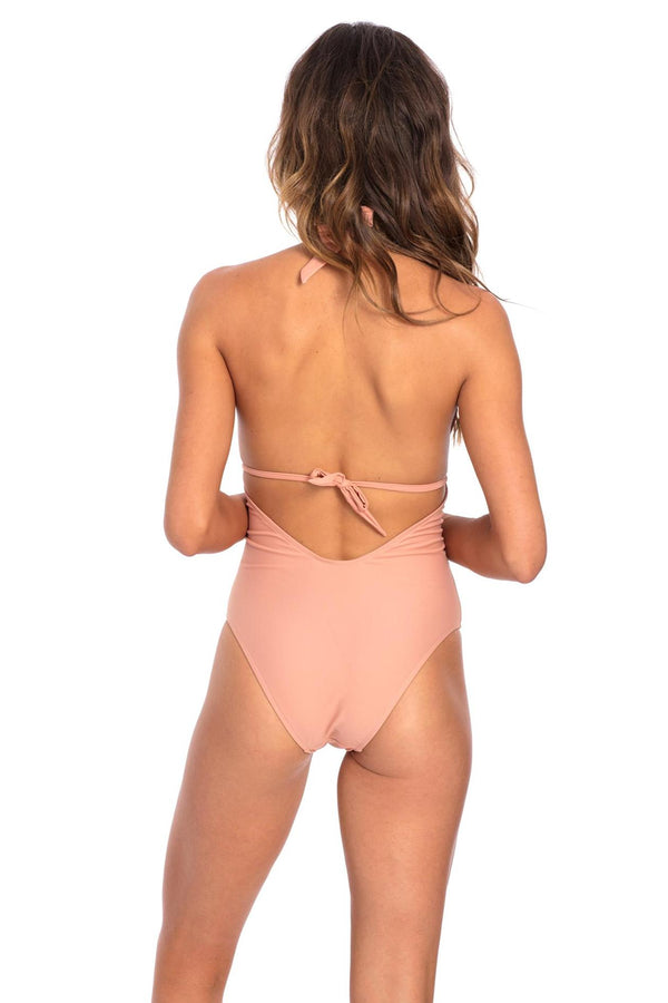 Muted Clay Vivian One Piece