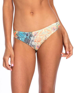 BOTTOM - Floral Lisa with Scrunch Bikini Bottom