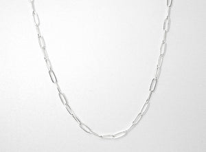 Silver Cameron Necklace