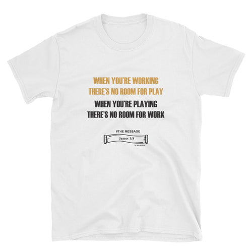 WORK/PLAY REFLECTION T-SHIRT