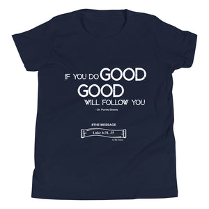YOUTH - DO GOOD T-SHIRT (WH)