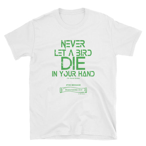 BIRD IN HAND T-SHIRT (GN)
