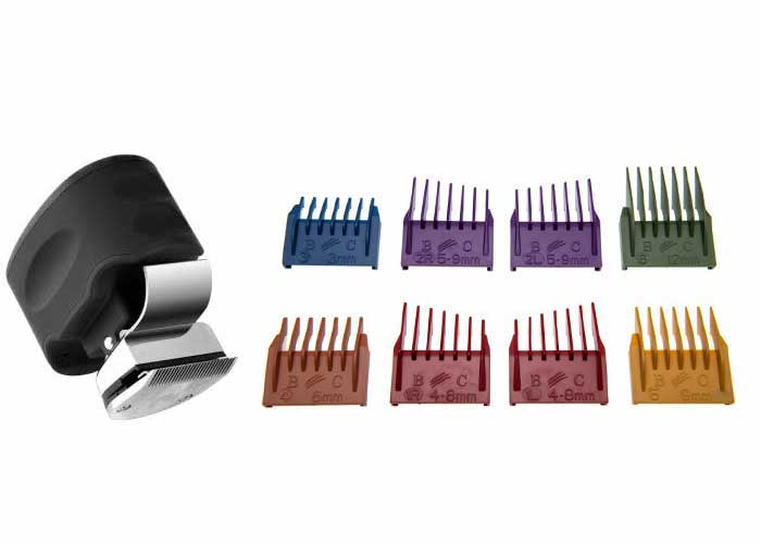 beast clipper is a complete kit. it comes with 8 combs of different lengths, a storage stand, and the Beast Clipper.