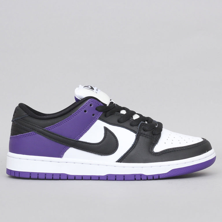 Nike SB Dunk Low Pro Shoes Court Purple / Black - White - Court Purple