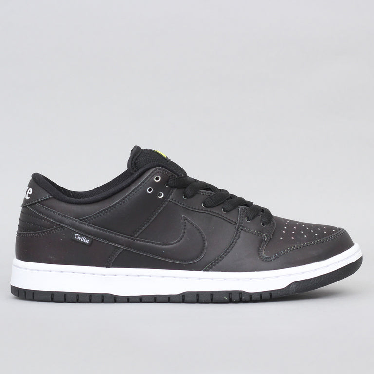 Nike SB Dunk Low Pro QS Shoes Black / Black - Black
