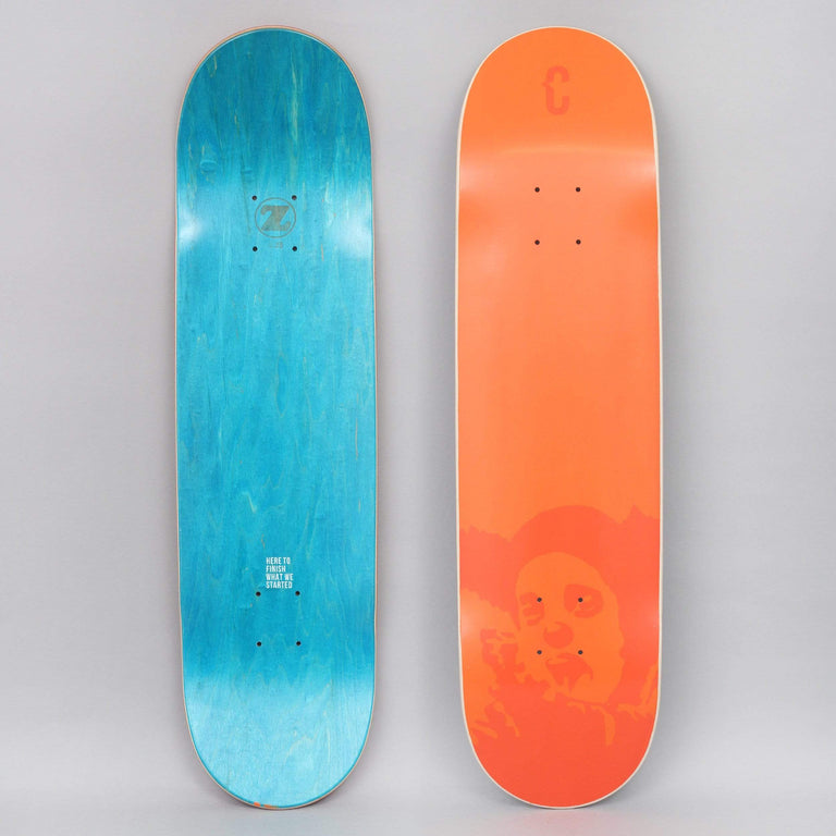 Clown 8.25 Manifesto DUB Skateboard Deck Orange