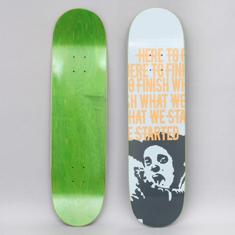 Clown 8.25 Manifesto Skateboard Deck White / Orange