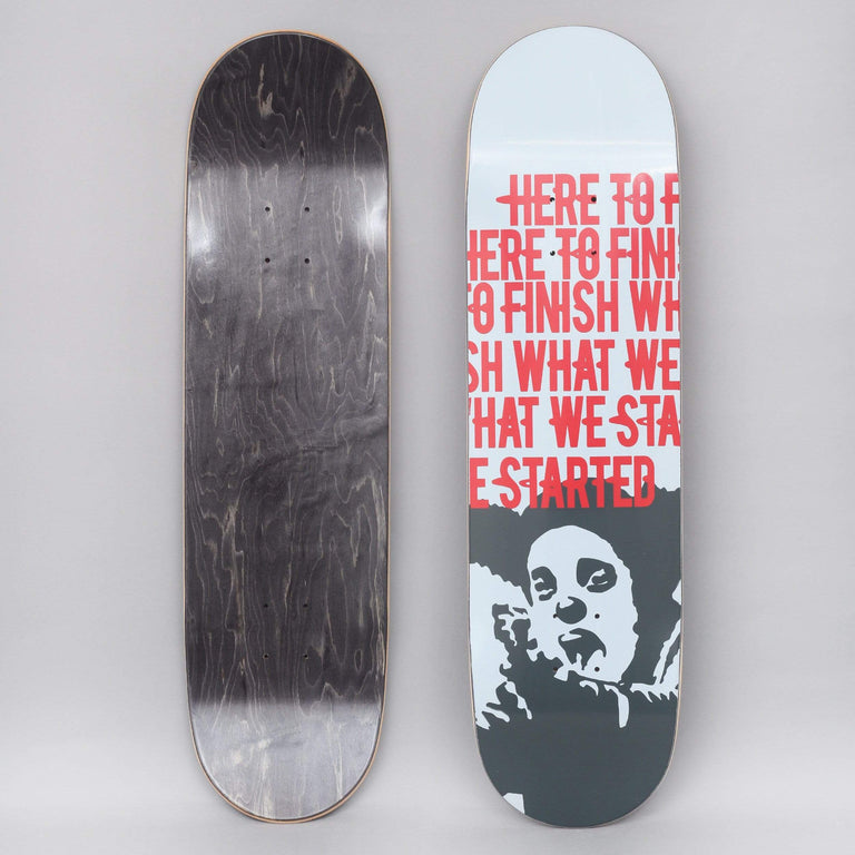 Clown 8.5 Manifesto Skateboard Deck White / Red