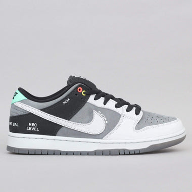 Nike SB Dunk Low Pro ISO Shoes Smoke Grey / Pure Platinum - Off Noir
