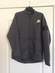 adidas Anaheim Ducks Game Mode climalite Quarter-Zip Jacket - Grey - Teammvpsports