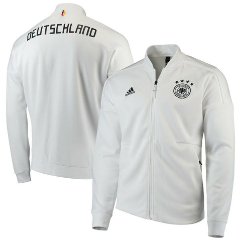 Adidas Germany National Team ZNE Knitted Full-Zip Jacket White Size  M L - Teammvpsports