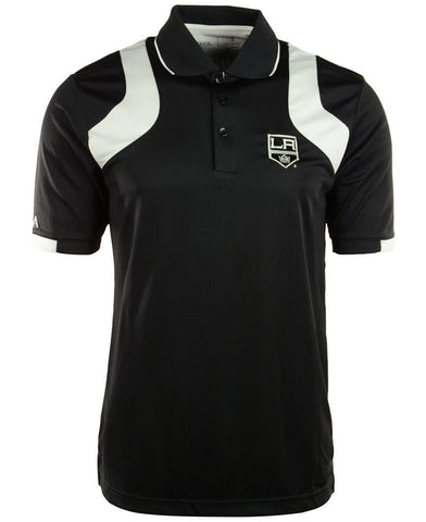 Antigua Men's Short-Sleeve Los Angeles Kings Fusion Polo Size XL - Teammvpsports