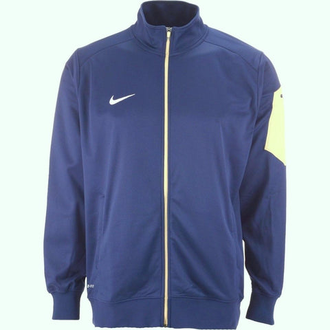 Nike Empower 2.0 Blue Dri Fit Full Zip Track Jacket Size XL - Teammvpsports