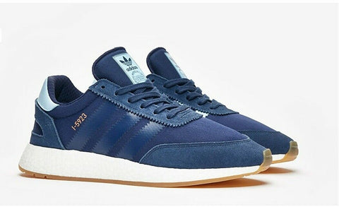 ADIDAS ORIGINALS I-5923 RUNNING SHOES Navy/Clear Sky - Teammvpsports