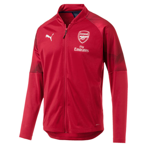 Puma Men's Arsenal FC Stadium Jacket Chili Pepper Red Size L, XL - Teammvpsports