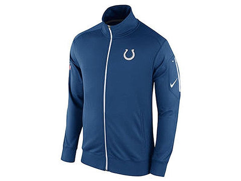 NFL Indianapolis Colts Nike Men's Empower Blue Full Zip Jacket Size 2XL - Teammvpsports