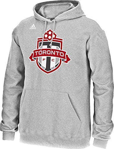 adidas Toronto FC Heather Gray Pullover Fleece Hoodies Size L - Teammvpsports