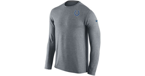 Nike Indianapolis Colts Men's Dri-Fit Touch Long Sleeve Gray T-Shirt  Size M - Teammvpsports