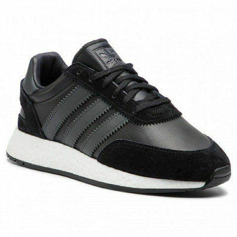 ADIDAS ORIGINALS INIKI I-5923 BLACK RUNNING SHOES - Teammvpsports