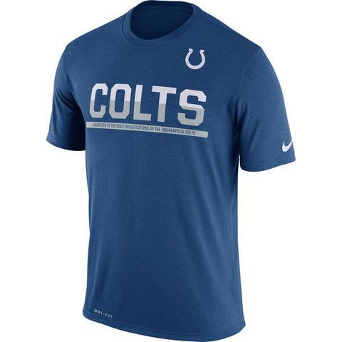 Nike Indianapolis Colts Team Practice Legend Performance T-Shirt Size XL - Teammvpsports