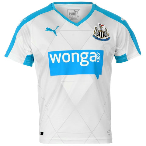 Puma Newcastle United 2015 - 2016 Away Soccer Jersey Size XL MSRP $90 - Teammvpsports