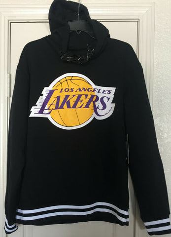 Los Angeles Lakers Black Pullover Hoodie Size L, 2XL - Teammvpsports