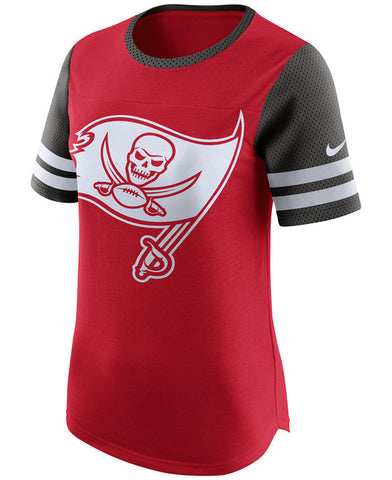 Nike Women's Modern Fan Gear Up NFL Tampa Bay Buccaneers Red T-Shirt Size M - Teammvpsports