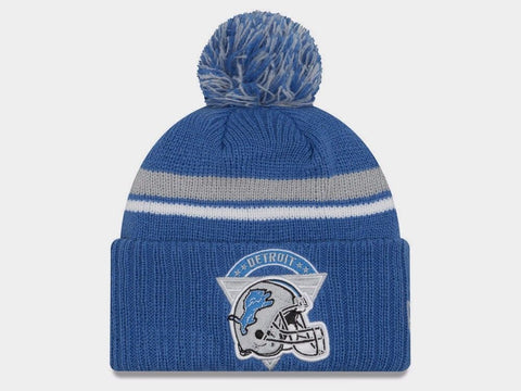 Detroit Lions New Era NFL Team Stacker Knit Beanie - Teammvpsports