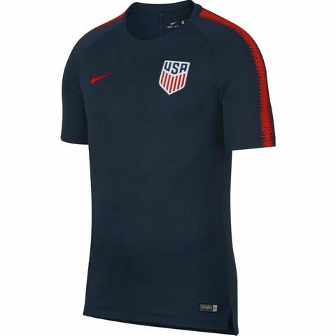 Nike Men's USA Breathe Squad Top Short Sleeve 2018 Training Jersey - Size XL - Teammvpsports