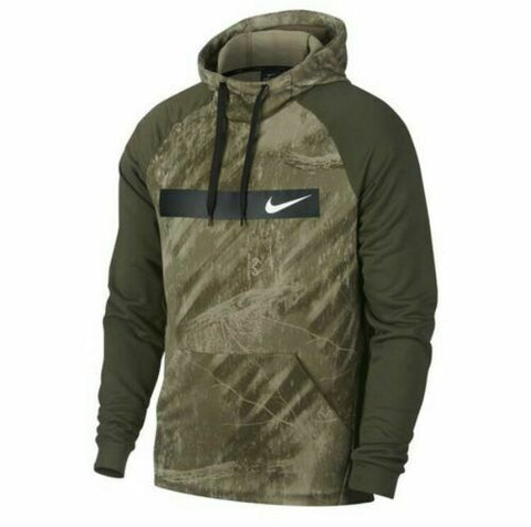 Nike Therma Fleece Training Pullover Hoodie Realtree Camo Mens Size XL - Teammvpsports