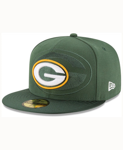 Green Bay Packers New Era NFL 2016 Sideline Official 59FIFTY Fitted Cap - Teammvpsports